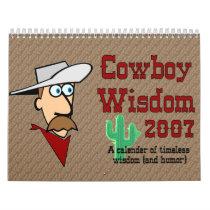 Cowboy Wisdom Calendar