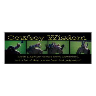 Cowboy Wisdom III Poster