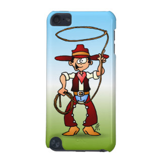 Cowboy with a lasso iPod touch (5th generation) cover