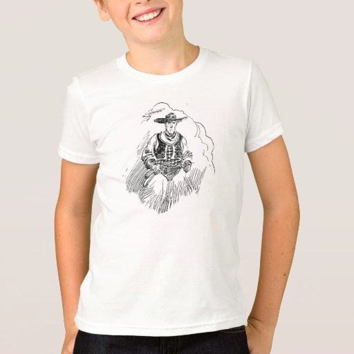 Cowboy With Furry Chaps T-Shirt