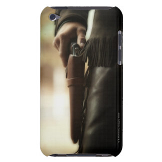 Cowboy with gun in holster iPod touch covers