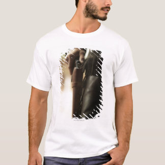 Cowboy with gun in holster T-Shirt