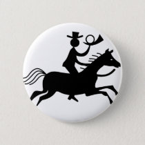 Cowboy with Horn Button