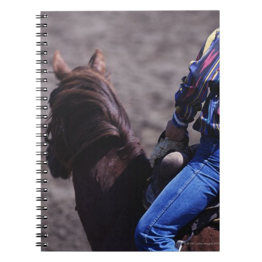 Cowboy with Identification Number Notebook