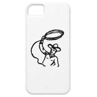 Cowboy with Lasso iPhone 5 Case
