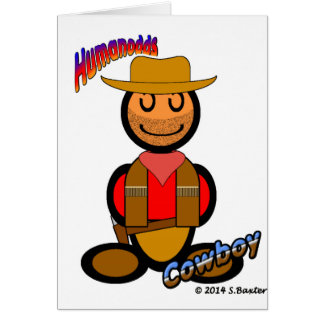 Cowboy (with logos) card