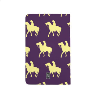 Cowboy Yellow Purple Journal