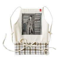 Cowboy Zazzle HEART Apron