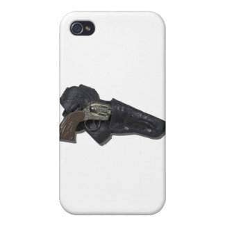 CowboyBeltToyGun091711 Covers For iPhone 4