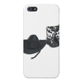 CowboyHatBoots092610 iPhone SE/5/5s Case