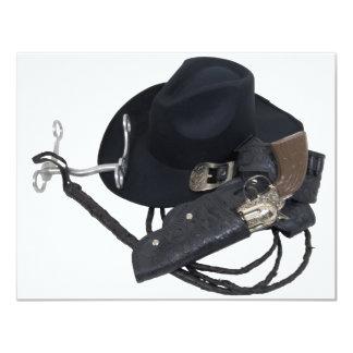 CowboyHatTools090309 4.25x5.5 Paper Invitation Card