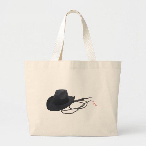 CowboyHatWhip090309 Tote Bags