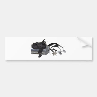 CowboyReadyRide051009 Bumper Sticker