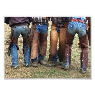 Cowboys and Chaps 5x7 Photo Print