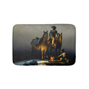 Wild Horse Bath Mats Rugs Zazzle