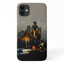Cowboys and Horses iPhone 11 Case