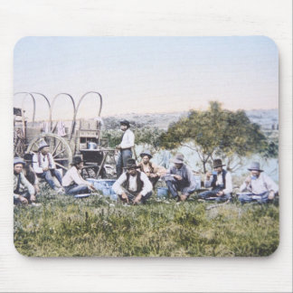 Cowboys at Lunch, 1904 (photo) Mousepads