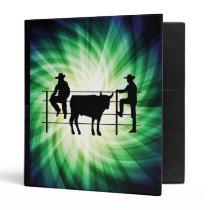 Cowboys at Ranch; Cool Binder