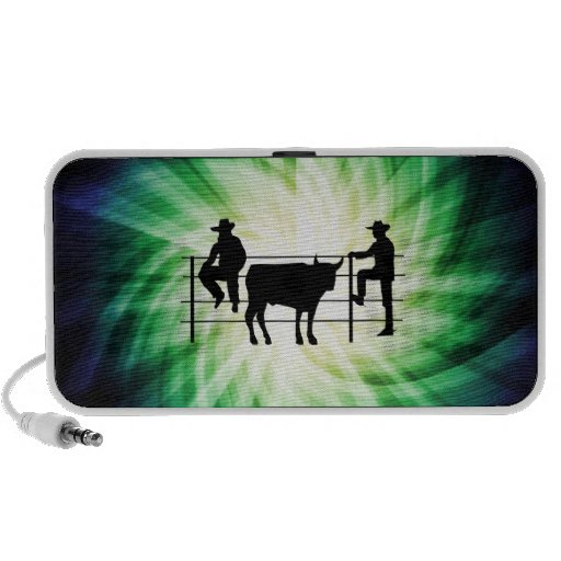 Cowboys at Ranch; Cool Mini Speakers