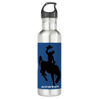 Cowboys Baseball Water Bottle
