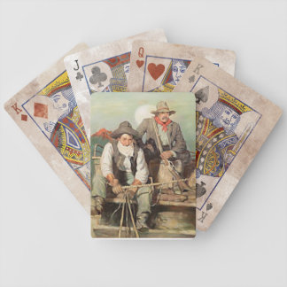 Cowboys Bicycle Playing Cards