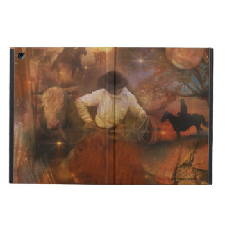 Cowboys - Boots, Wild Horses & Western Sunsets Cover For iPad Air