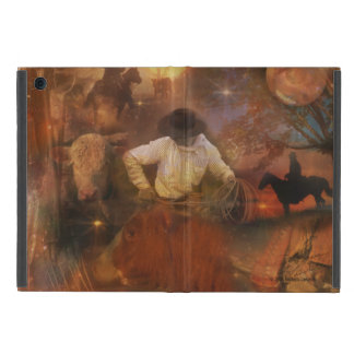Cowboys - Boots, Wild Horses & Western Sunsets Cover For iPad Mini