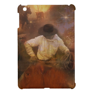 Cowboys - Boots, Wild Horses & Western Sunsets iPad Mini Cover