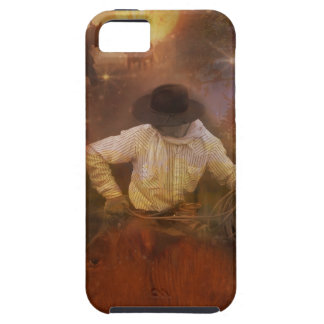 Cowboys - Boots, Wild Horses & Western Sunsets iPhone SE/5/5s Case