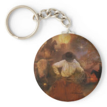 Cowboys - Boots, Wild Horses & Western Sunsets Keychain