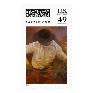 Cowboys - Boots, Wild Horses & Western Sunsets Postage