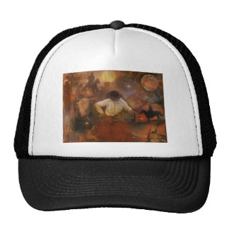 Cowboys - Boots, Wild Horses & Western Sunsets Trucker Hat