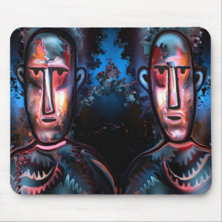 Cowboys by rafi talby mouse pad