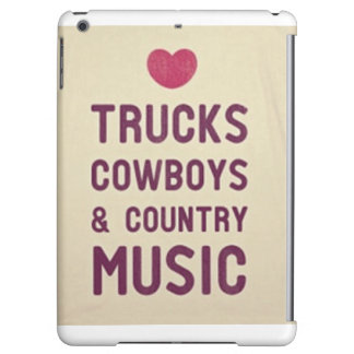 Cowboys & Country Music I-Pad Case Cover For iPad Air