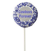 Cowboys Forever  Oreo Pops