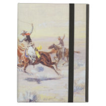Cowboys from the Bar Triangle by CM Russell Case For iPad Air