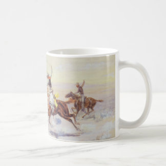 Cowboys from the Bar Triangle by CM Russell Coffee Mug