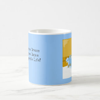 cowboys  Gallop into Life Classic White Coffee Mug