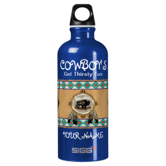 Cowboy's Get Thirsty Too Water Bottle