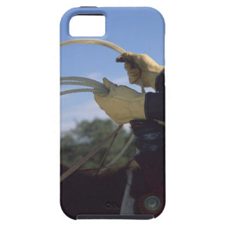 Cowboy's hands with lasso iPhone 5 cover