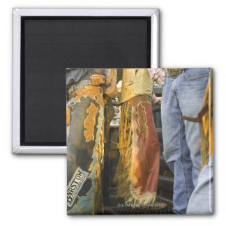 Cowboys in Chaps 2 Inch Square Magnet