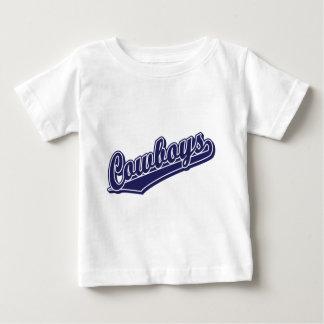 Cowboys in Custom Blue 1 Baby T-Shirt