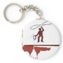 cowboys keychain