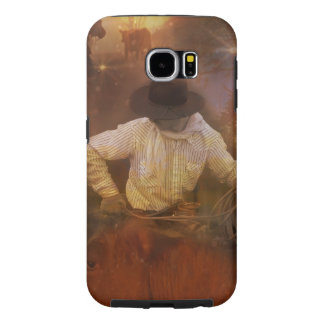 Cowboys - Leather Boots & Wild Horses Samsung Galaxy S6 Case