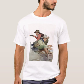 Cowboys on a Carriage T-Shirt