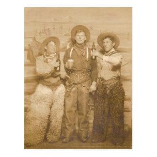 Cowboys Postcard