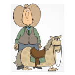 Cowboy's Ride Customized Letterhead