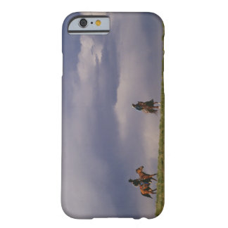 Cowboys riding horses barely there iPhone 6 case