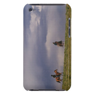 Cowboys riding horses iPod touch cover