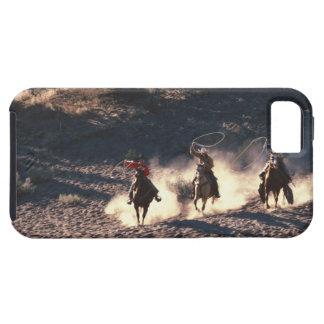 Cowboys riding iPhone SE/5/5s case